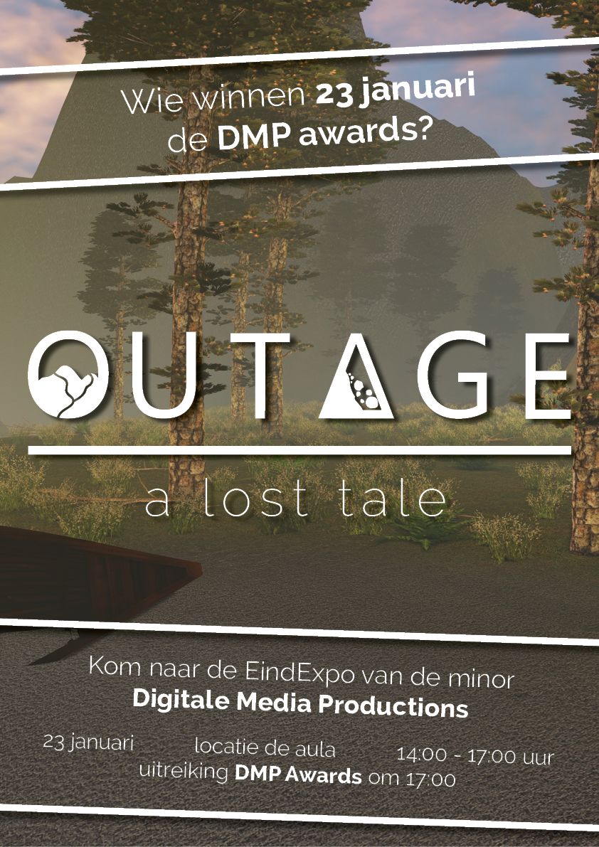 Promotie poster Outage a lost tale